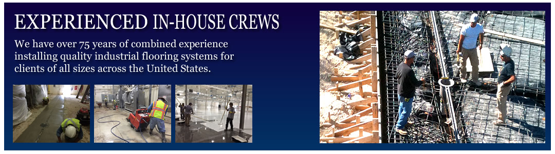 Experienced Industrial Floor Installation